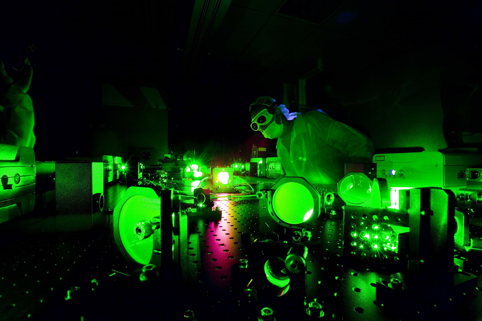 Extreme Light Laboratory Image