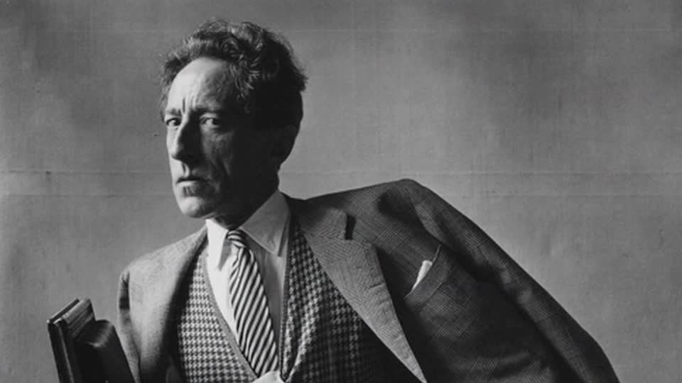 Frame by Frame logo image; links to Frame By Frame: Jean Cocteau video