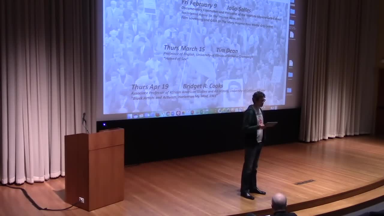 Video thumbnail; links to Timothy Scott Brown - Part 1: Lecture video