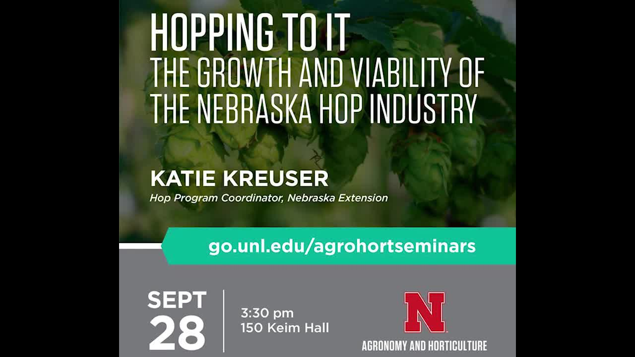 Hopping to it: The Growth and Viability of the Nebraska Hop Industry