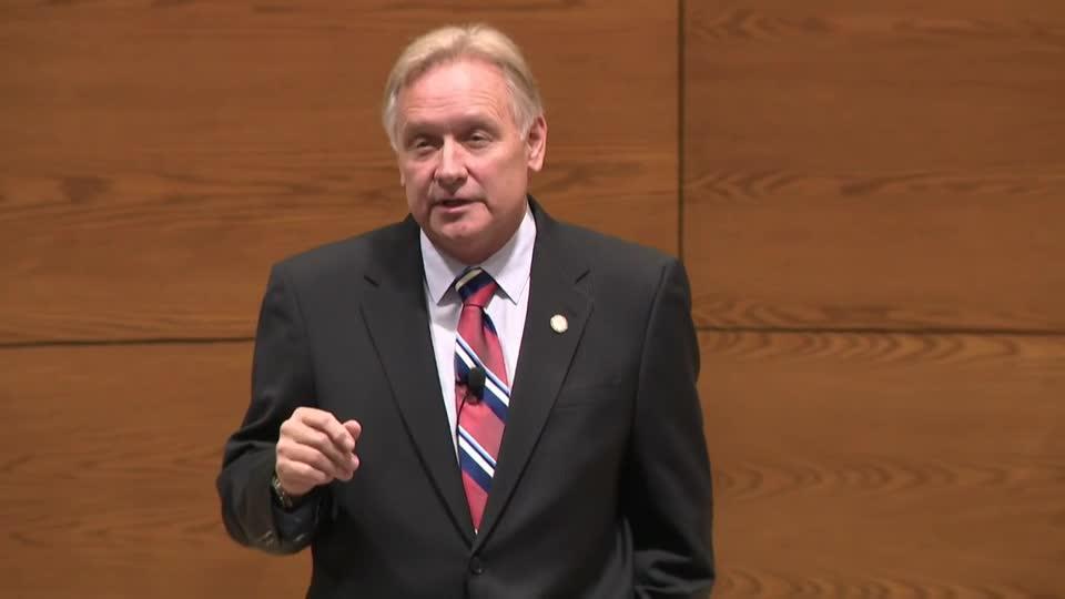 Criminal Justice Lecture--Bob Krist, Nebraska State Senator