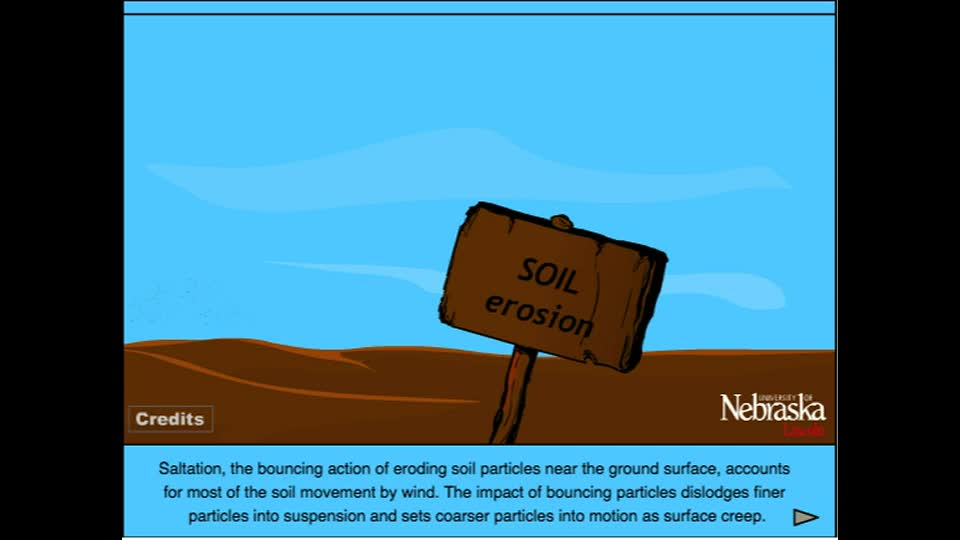 Wind Erosion - Saltation