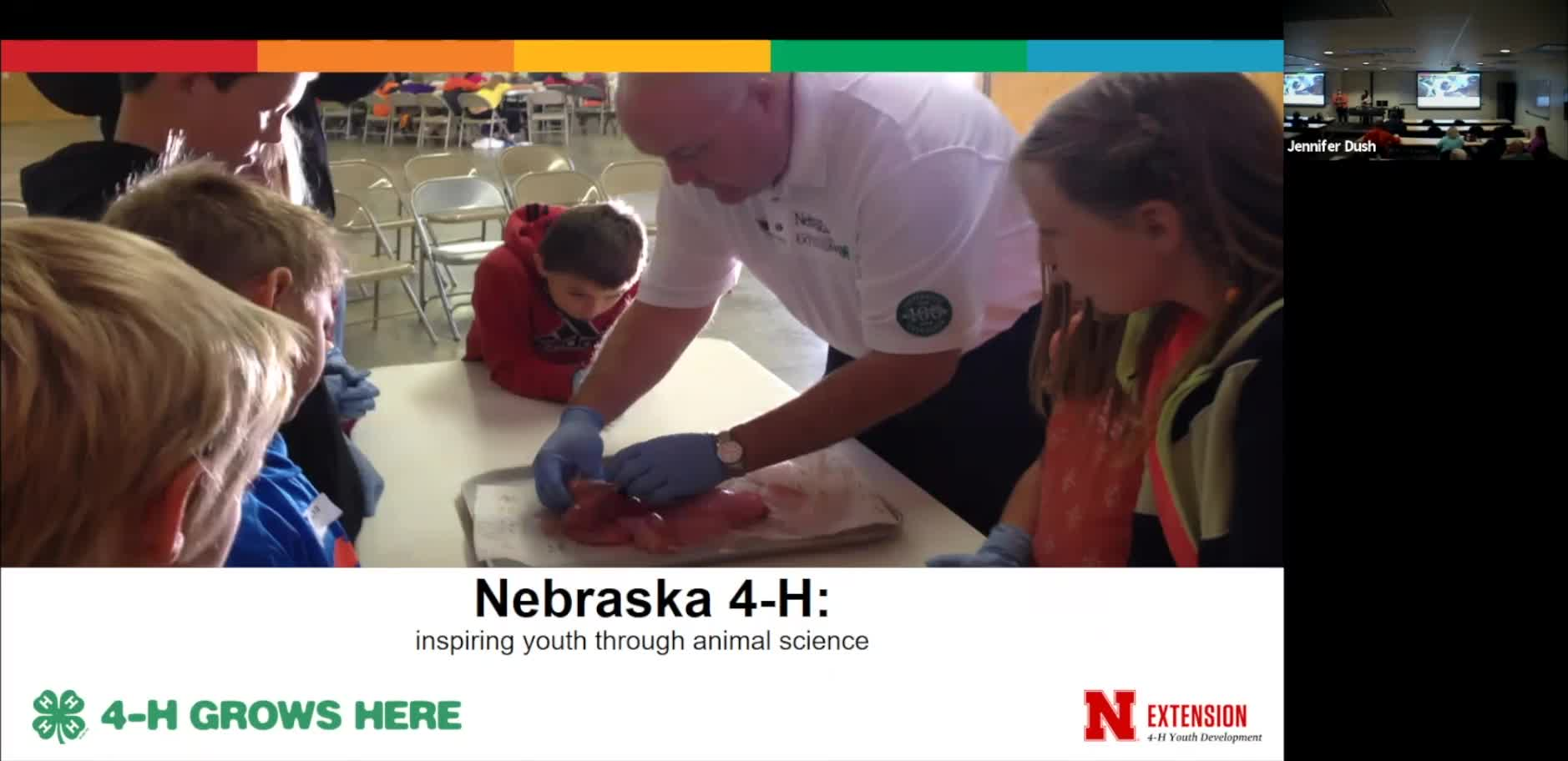 """Nebraska 4-H: Inspiring Young Animal Scientists"""