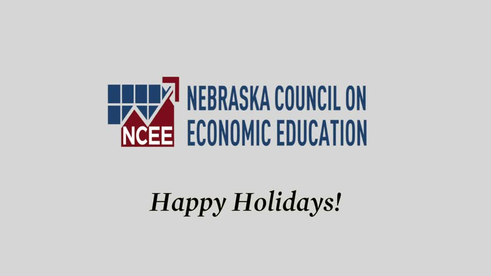 Happy Holidays from Nebraska Council on Economic Education