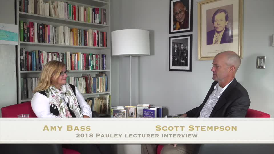 2018 Pauley Interview - Amy Bass and Scott Stempson