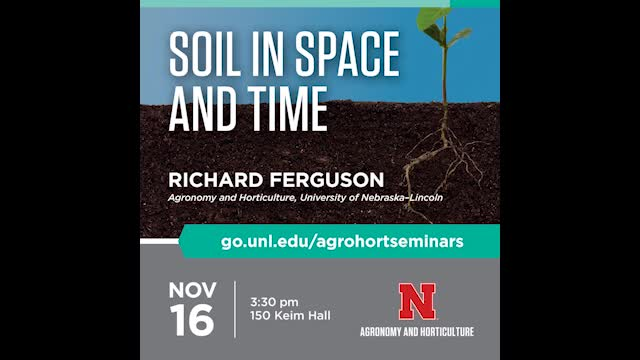 Soil in Space and Time