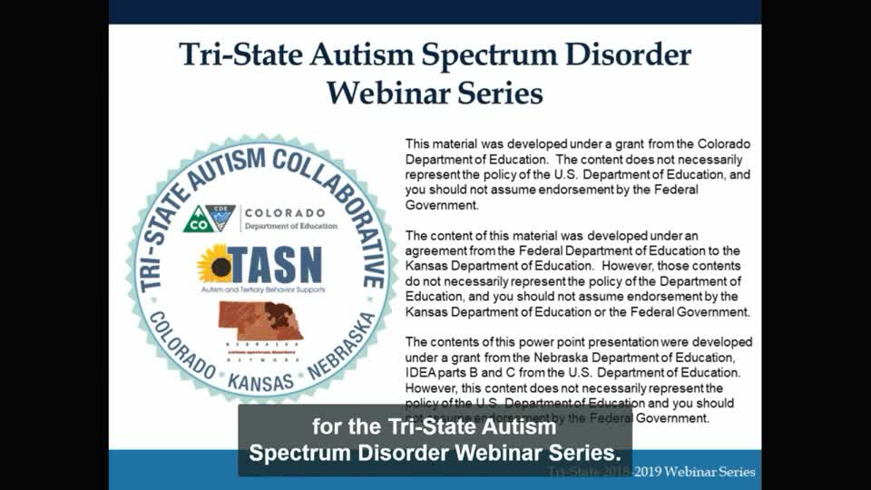 Educational Identification of Autism Spectrum Disorders: the Law and Eligibility in the Schools