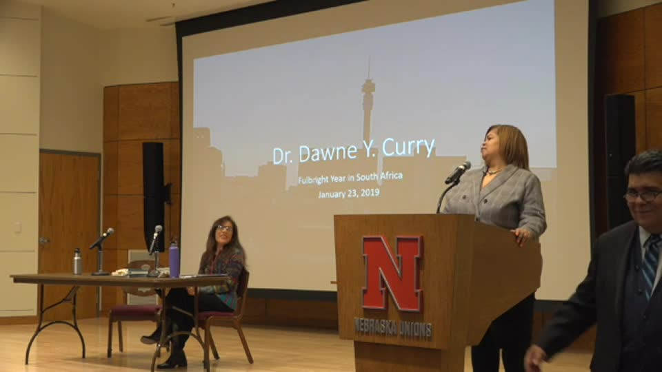 """Journeys in Africa"" Fulbright Lecture - Dawne Y. Curry"