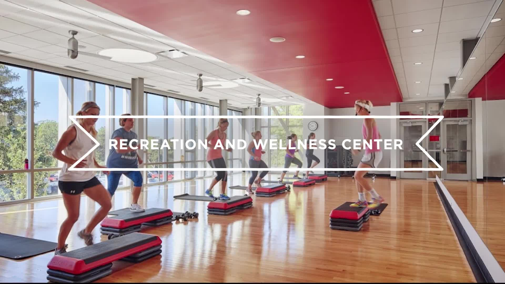 Campus Tours–Recreation and Wellness Center