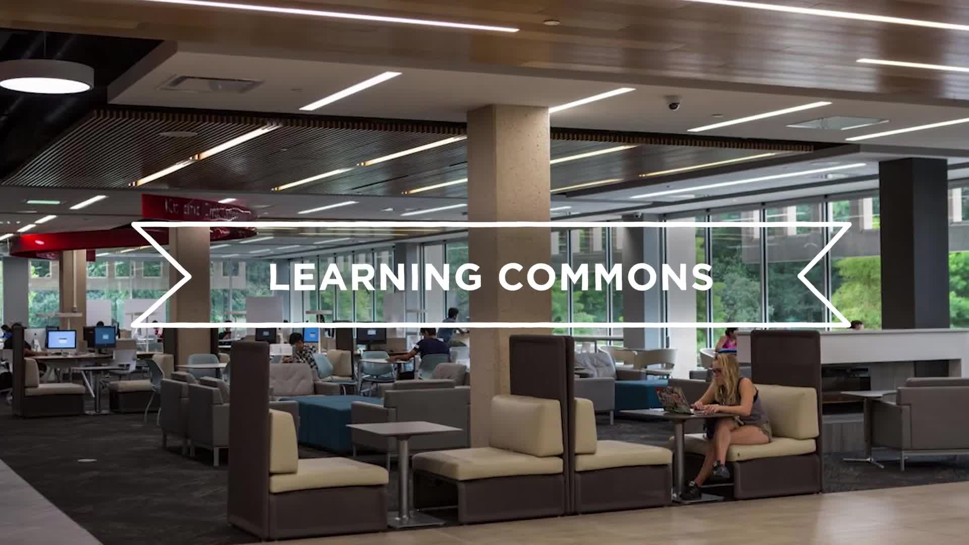 Campus Tours–Adele Coryell Hall Learning Commons