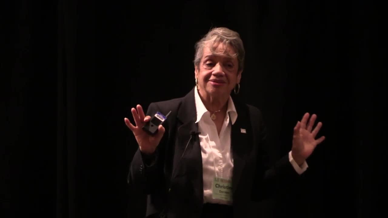 Christine Darden, NCUWM 2019 Plenary Talk
