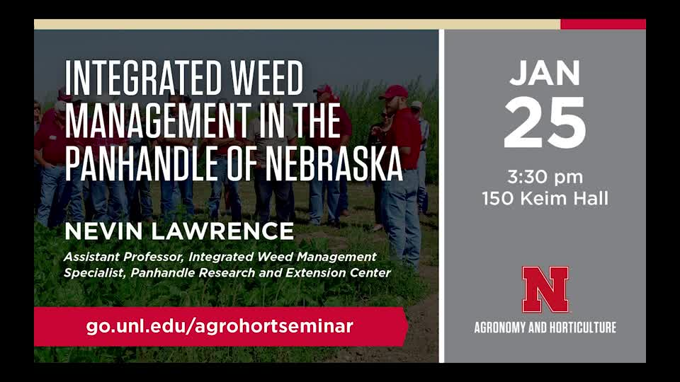 Integrated Weed Management in the Panhandle of Nebraska
