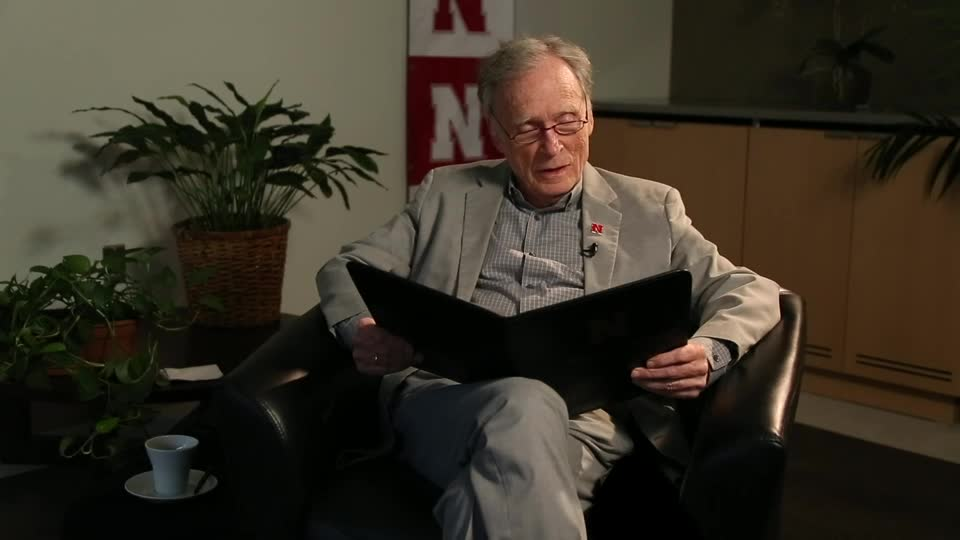 """So This is Nebraska"" read by Dick Cavett"