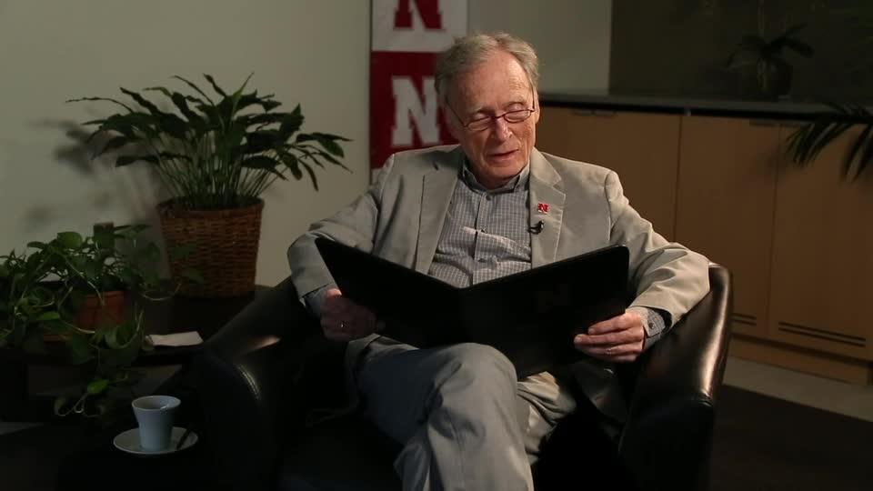 """So This is Nebraska"" read by Dick Cavett"
