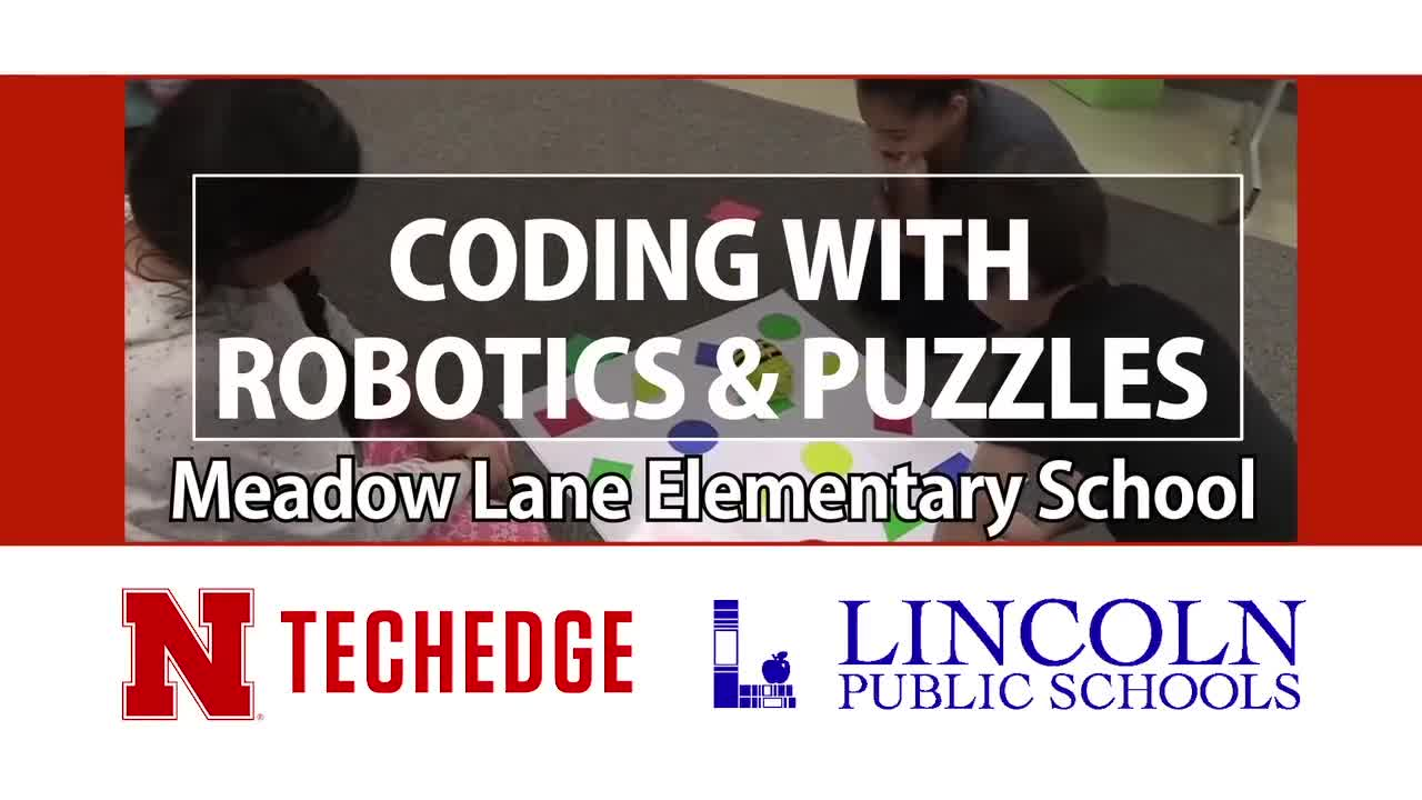 Meadow Lane Elementary Students Code with Robotics & Puzzles
