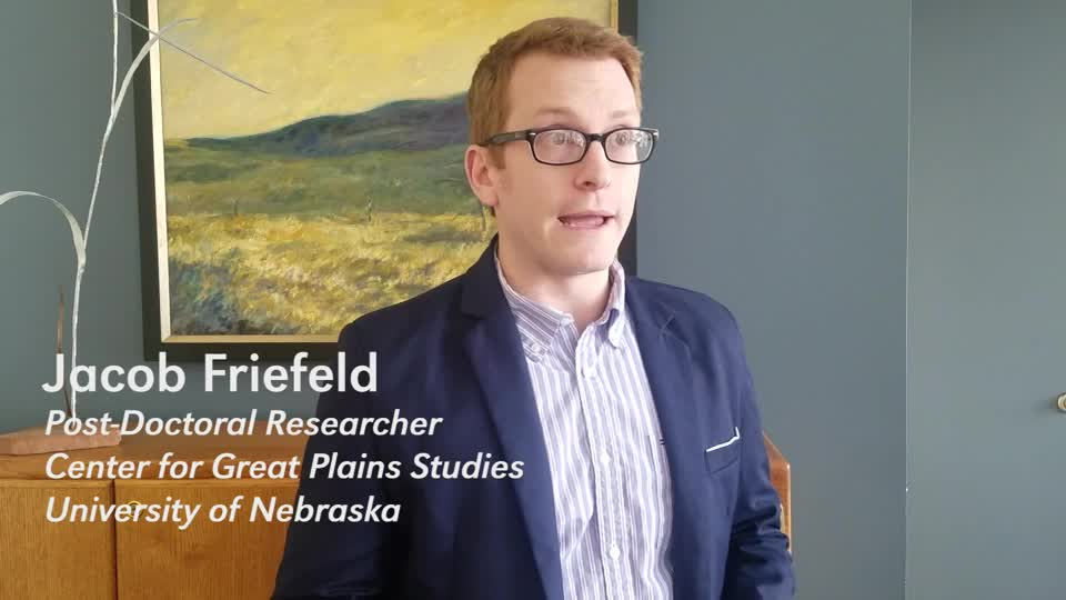 Jacob Friefeld on Black Homesteaders