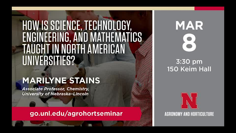 How is Science, Technology, Engineering, and Mathematics taught in North American Universities?