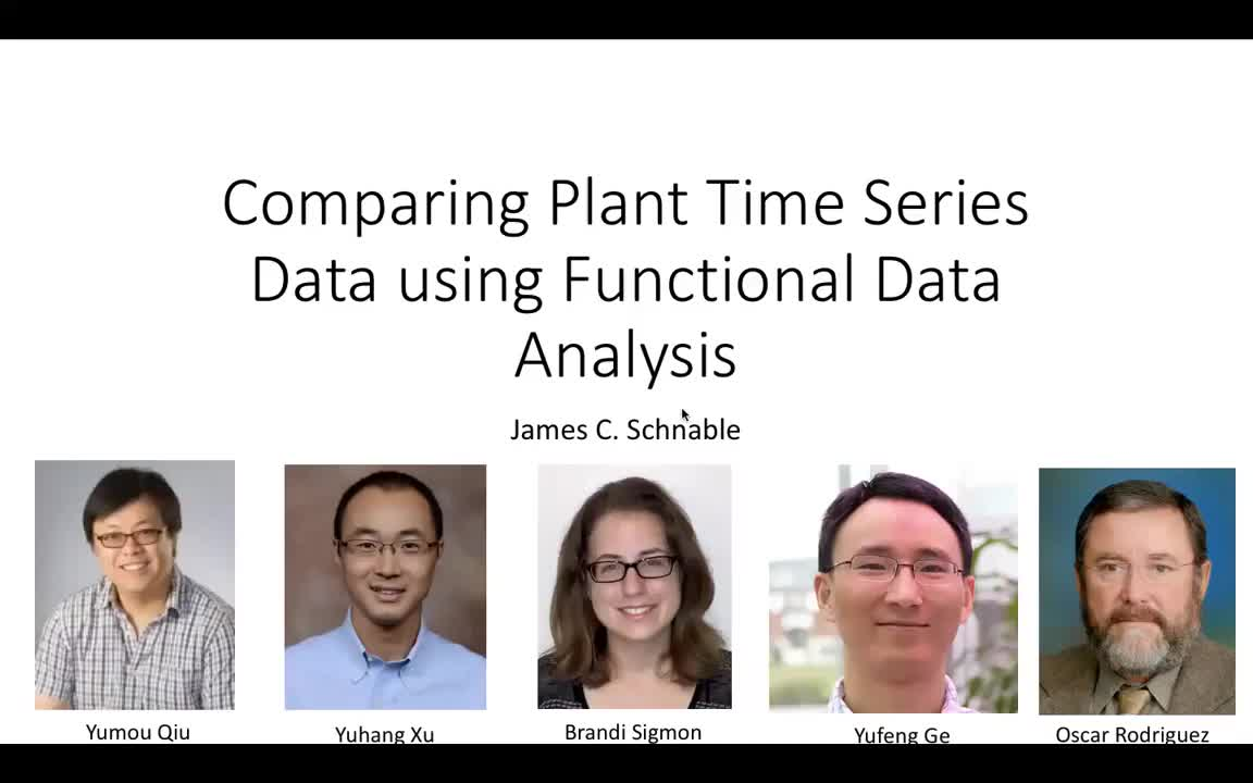 Comparing Plant Time Series Data using Functional Data Analysis
