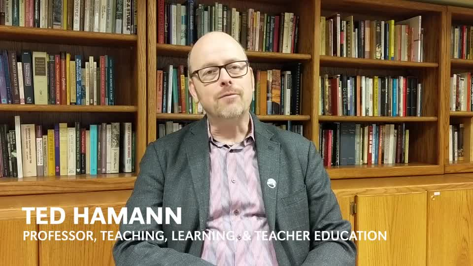 Ted Hamann on Great Plains education
