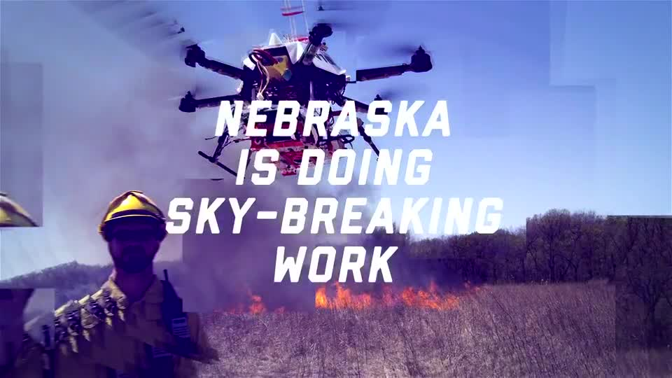 Nebraska Leads Fire Drone Development