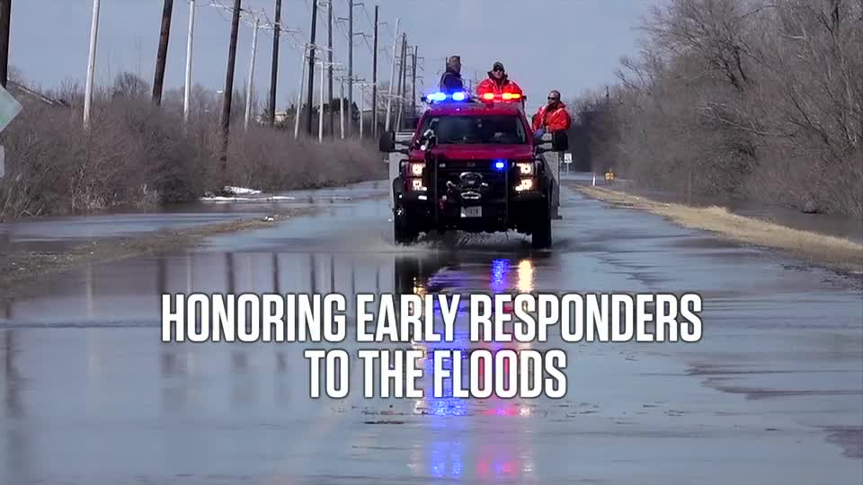 Honoring First Responders to the Floods