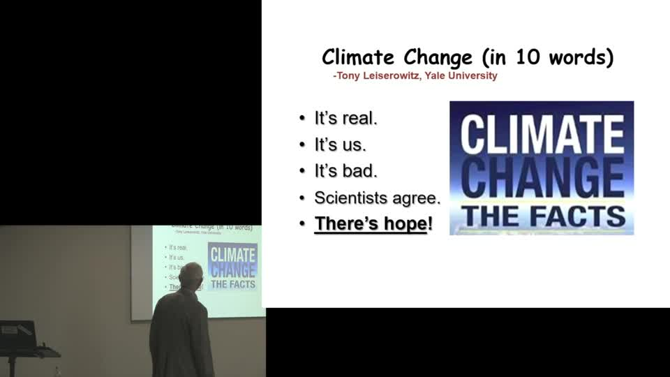 Climate talk 1