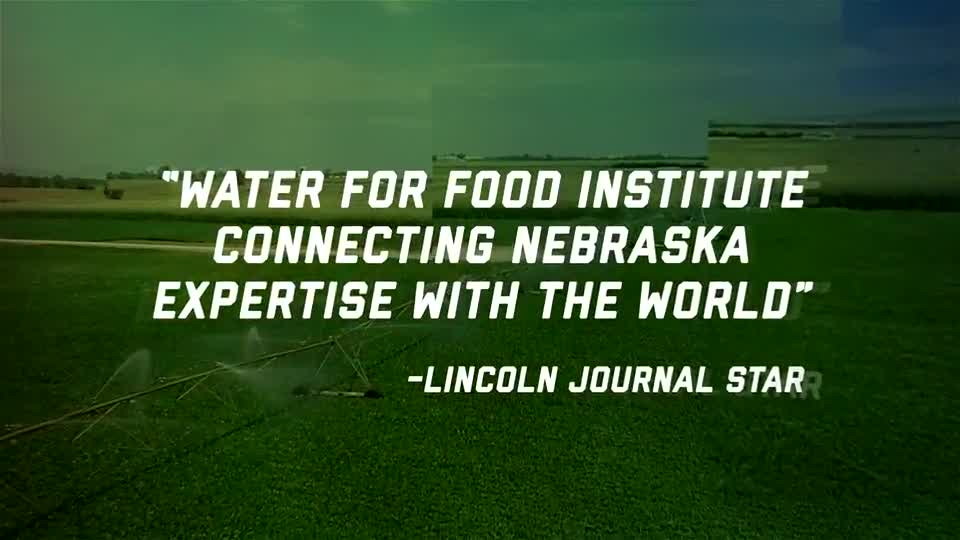 Nebraska Leads Water for Food Research
