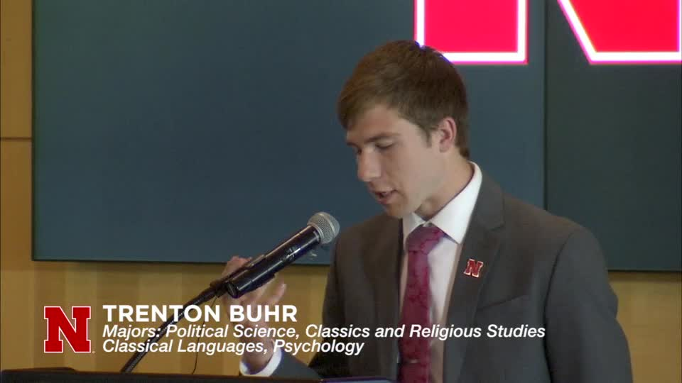 Student Reflection: Trenton Buhr