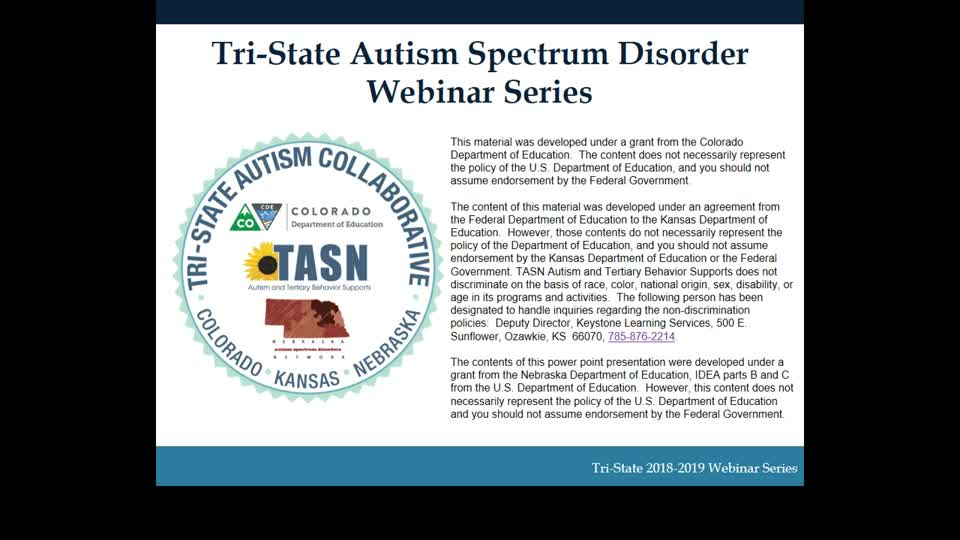 Differential Identification of Emotional Disability and ASD