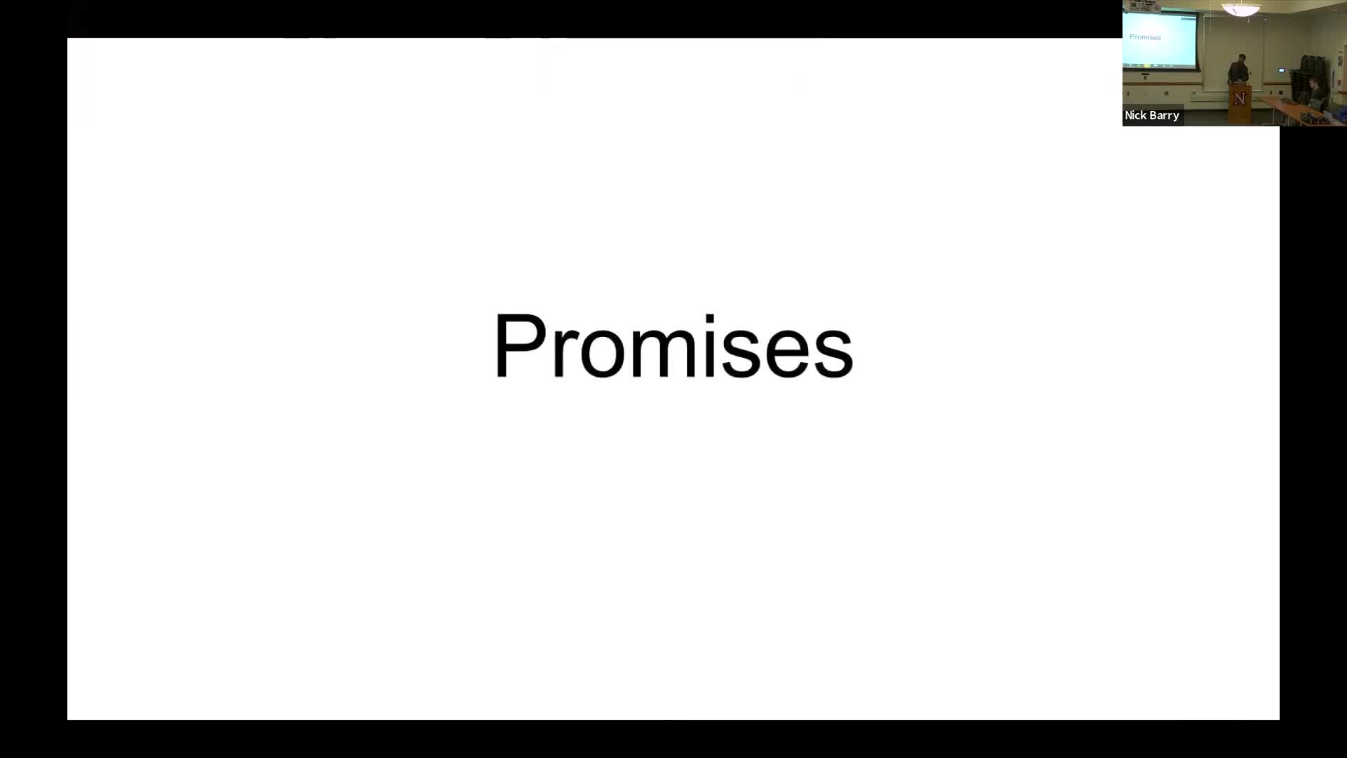 Promises in JavaScript