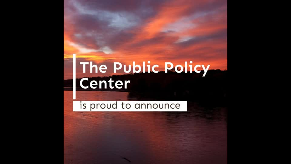 There's Something New at the Public Policy Center.