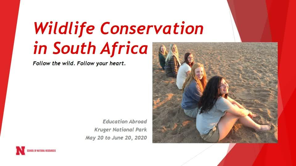 Study Abroad - South Africa - Kruger National Park - 2020