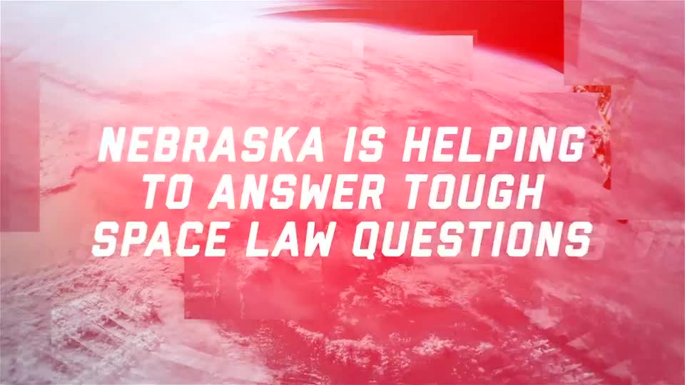 Nebraska Leads Space Law