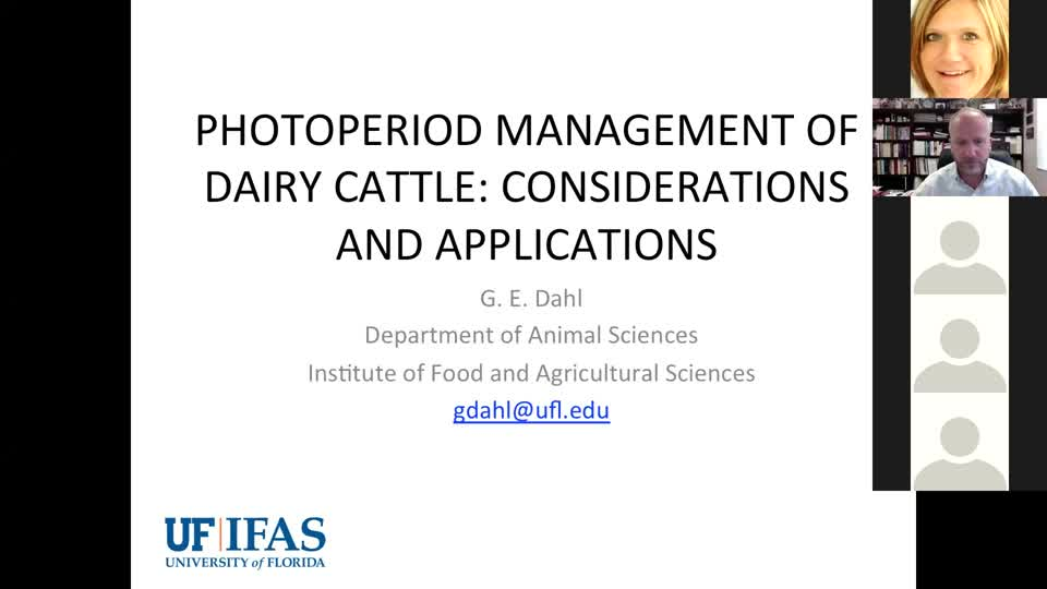 Photoperiod Management for Dairy Cows webinar