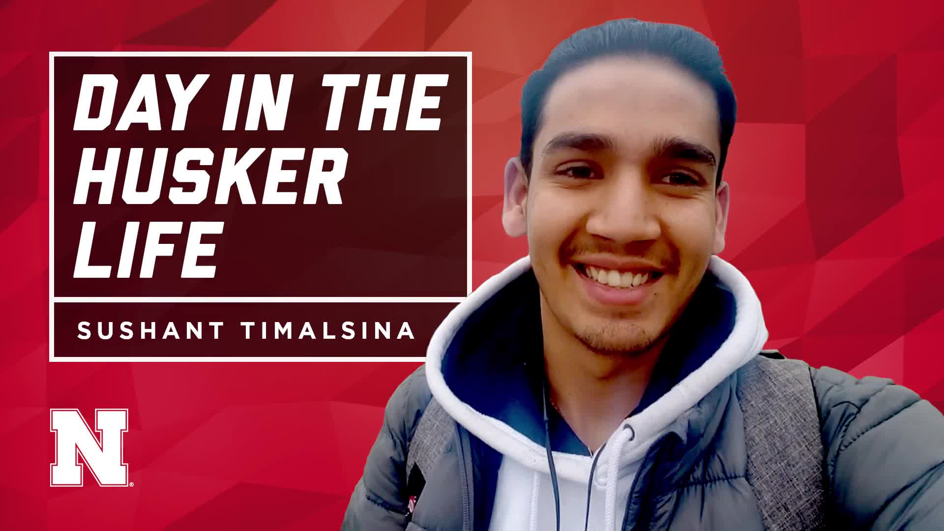 Day in the Husker Life | Sushant | Nepal