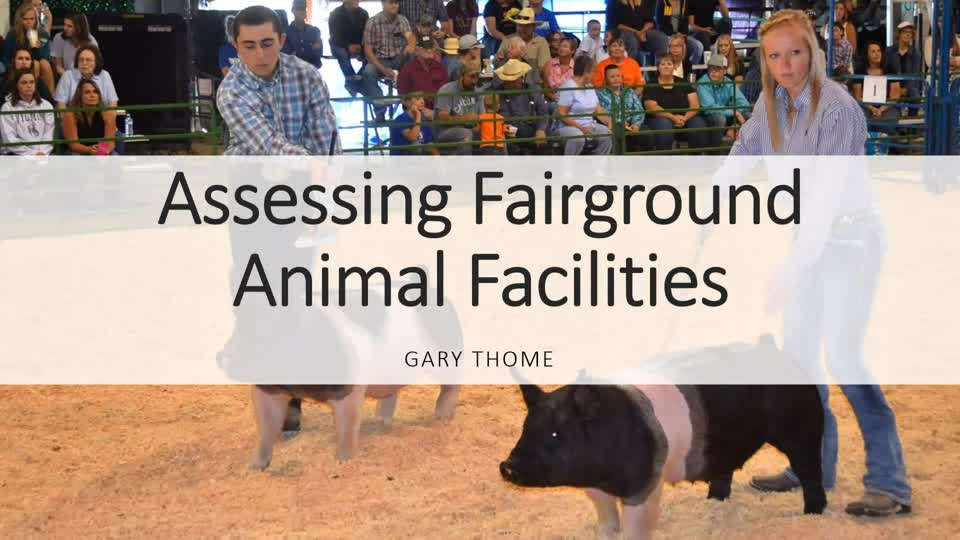 Assessing Fairground Animal Facilities