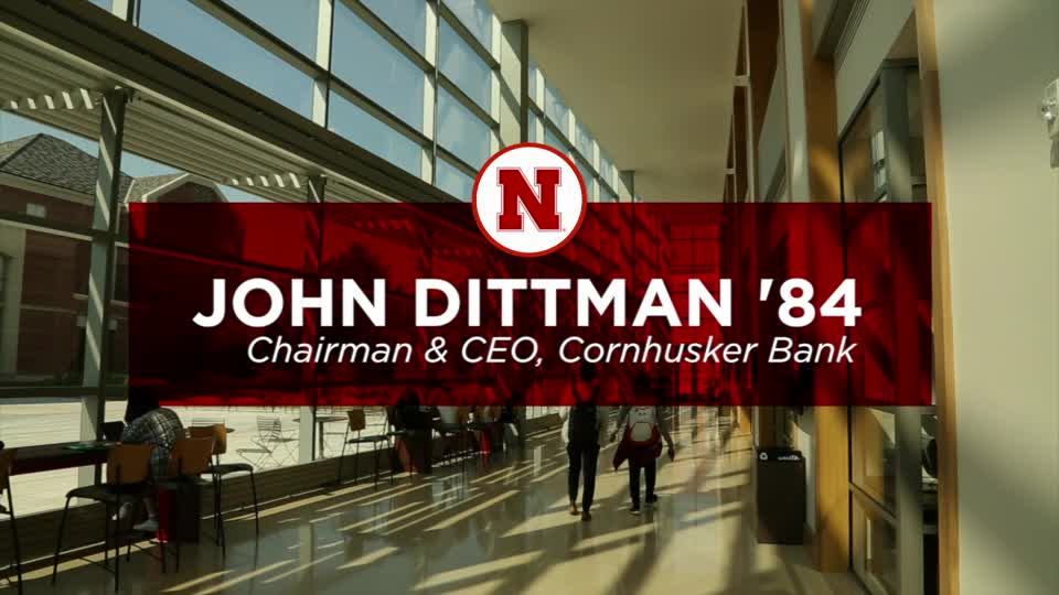 College of Business Alumnus John Dittman