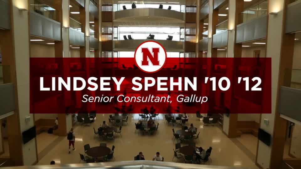 College of Business Alumna Lindsey Spehn