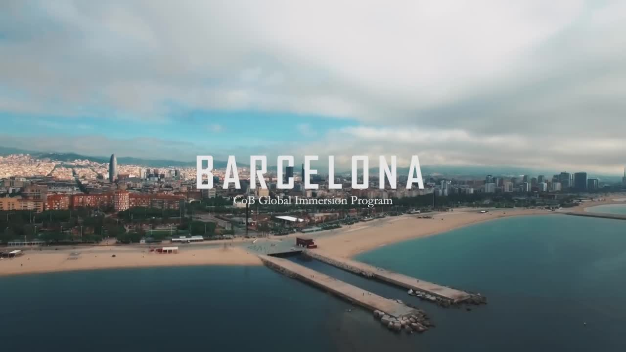 CoB Global Immersion Program - Barcelona