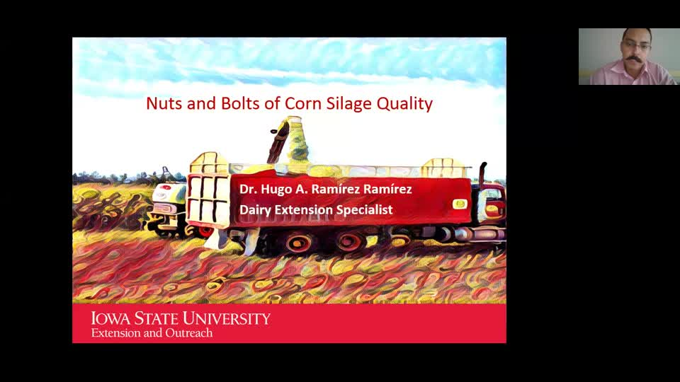Nuts and Bolts of Corn Silage Quality