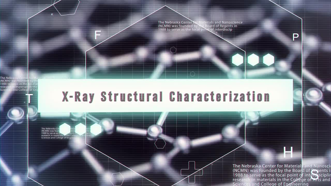 X-Ray Structural Characterization