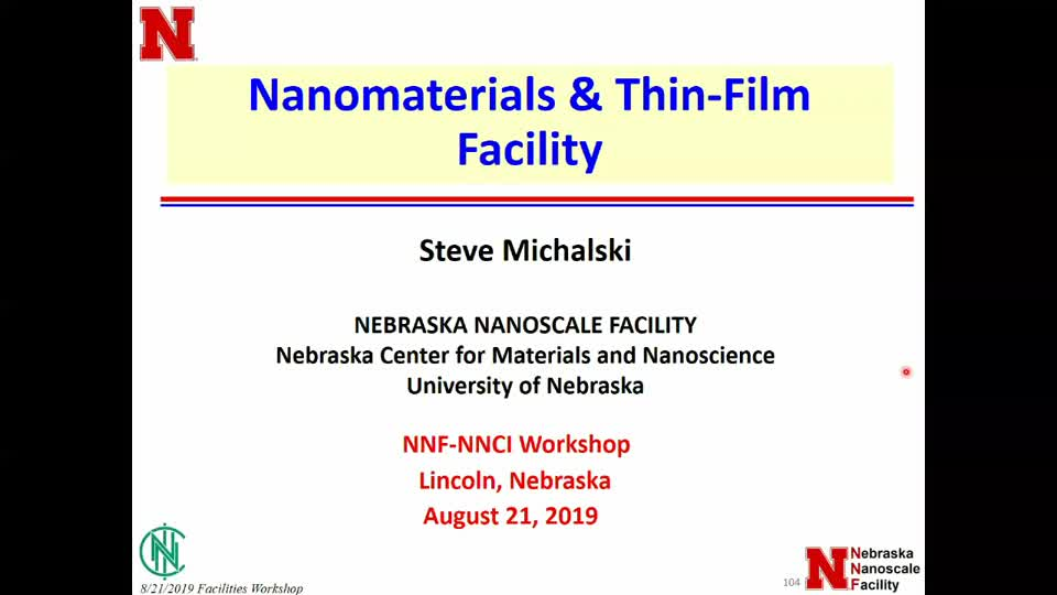 Nanomaterials & Thin Films Overview