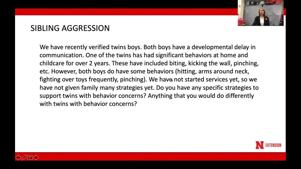 Behavior Bites - toddler twin aggression