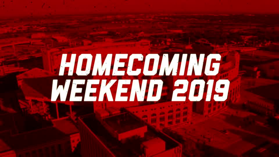 Join Us for Homecoming Weekend 2019
