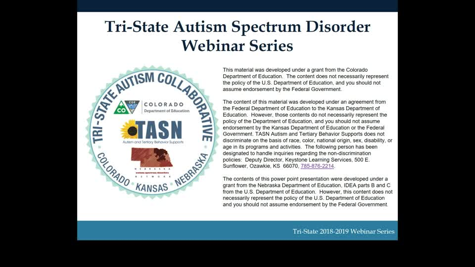 Autism Spectrum Disorder for Administrators