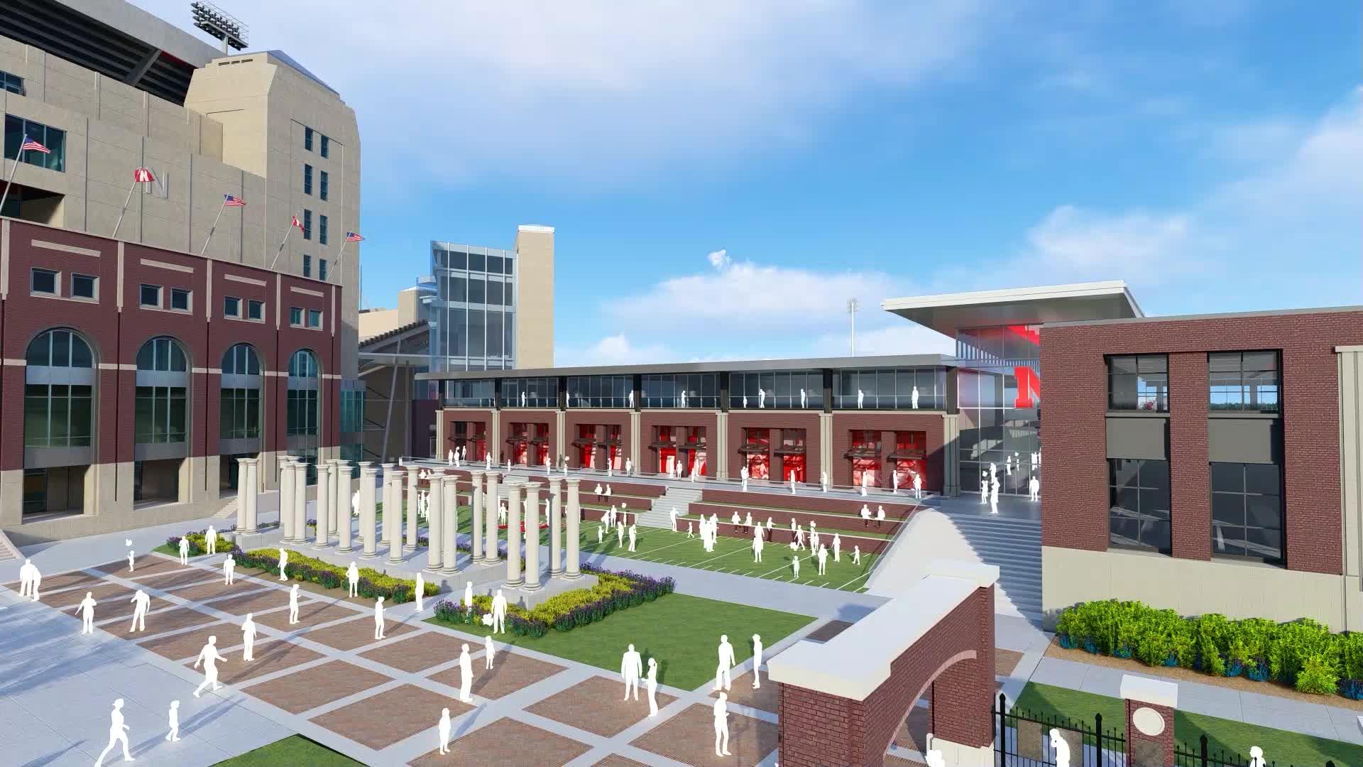 Go Big athletics expansion at the University of Nebraska