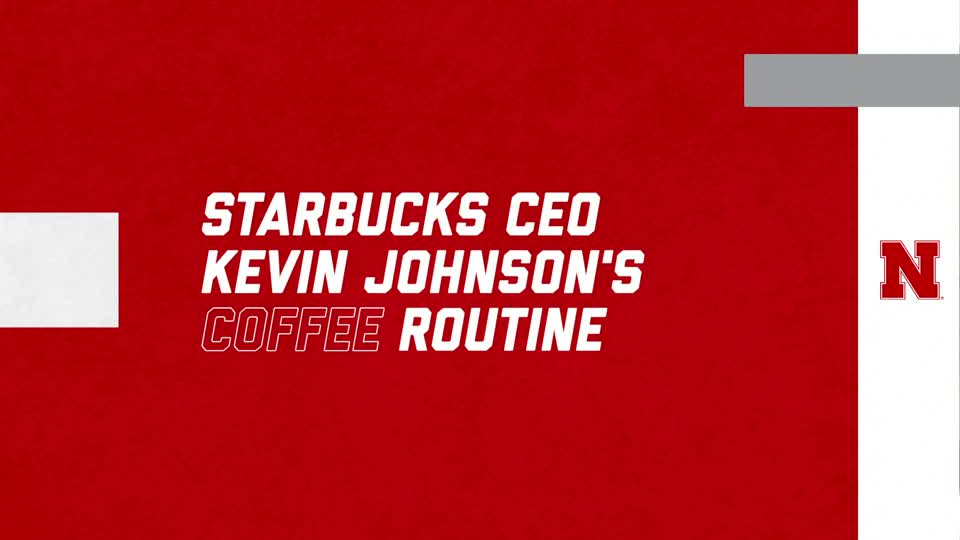 Starbucks CEO's Coffee Routine