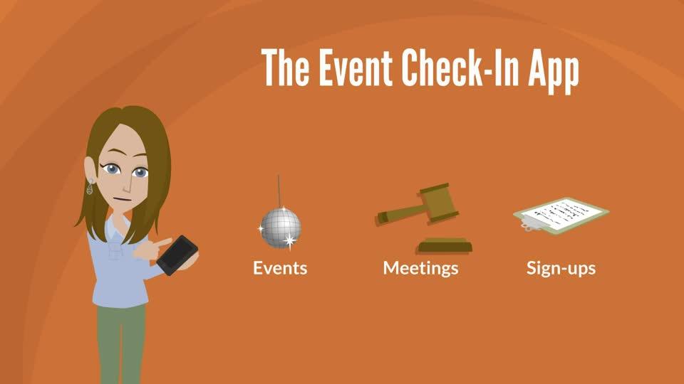RSO Event Check-In App