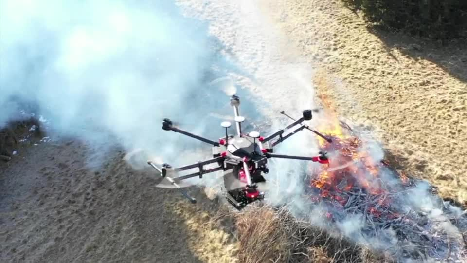 Drone Research in NIMBUS Lab To Save Lives in Wildfires
