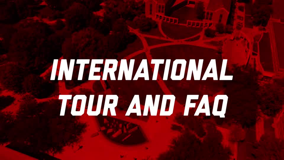 Tour & FAQ for International Students